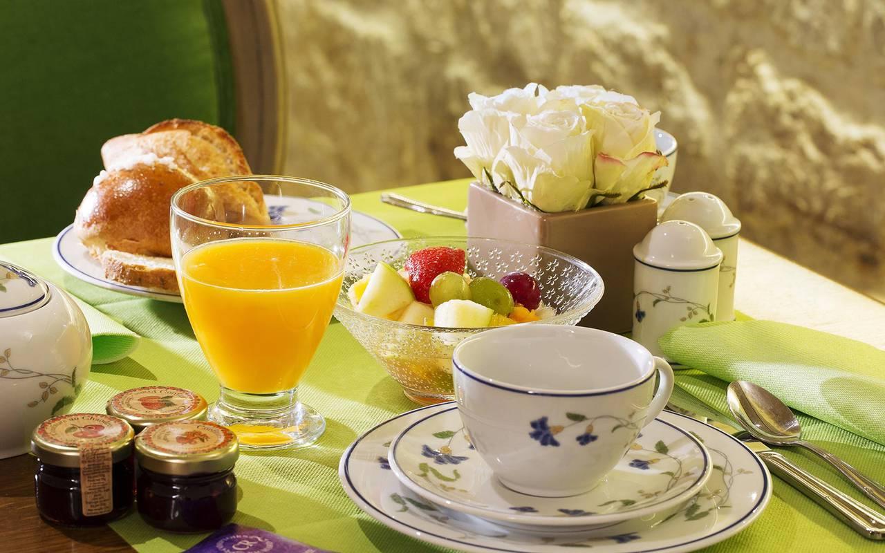 Gourmet breakfast hotel 3 etoiles paris