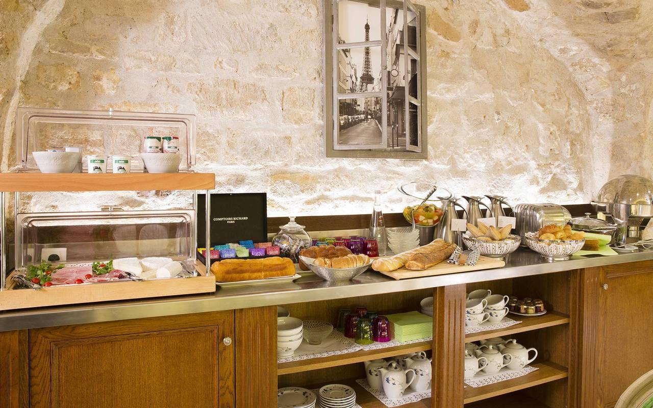 Breakfast buffet hotel 3 etoiles paris