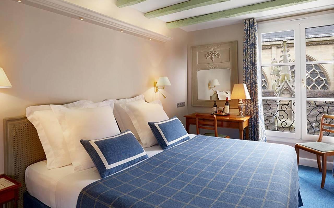 Chambre luxueuse et cosy Hotel Paris Louvre