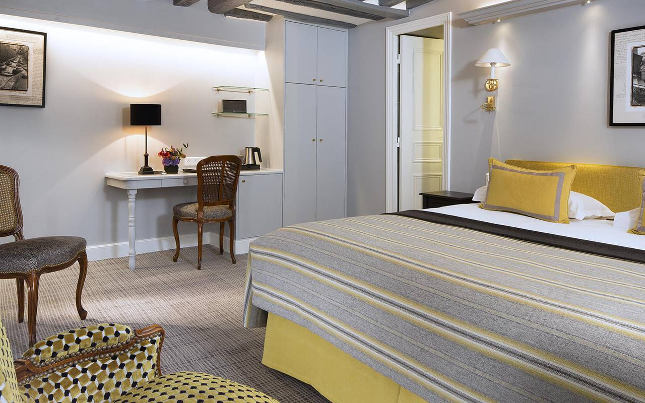 Chambre double deluxe hotel rue saint honore