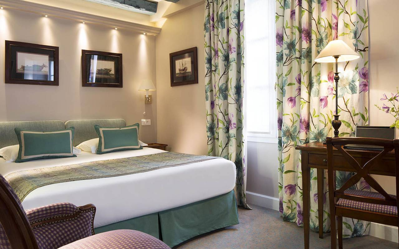Chambre double tradition hotel rue saint honore