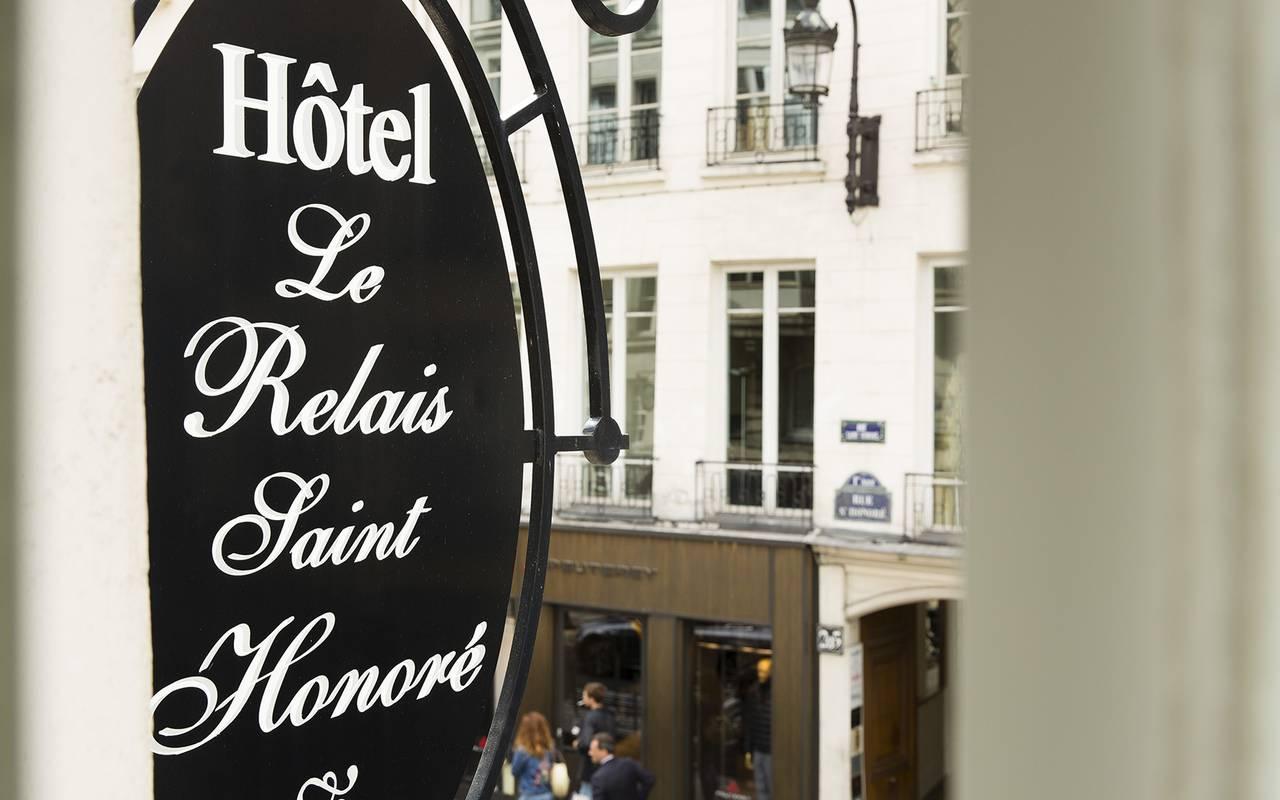 Relais saint honoré hotel romantique paris