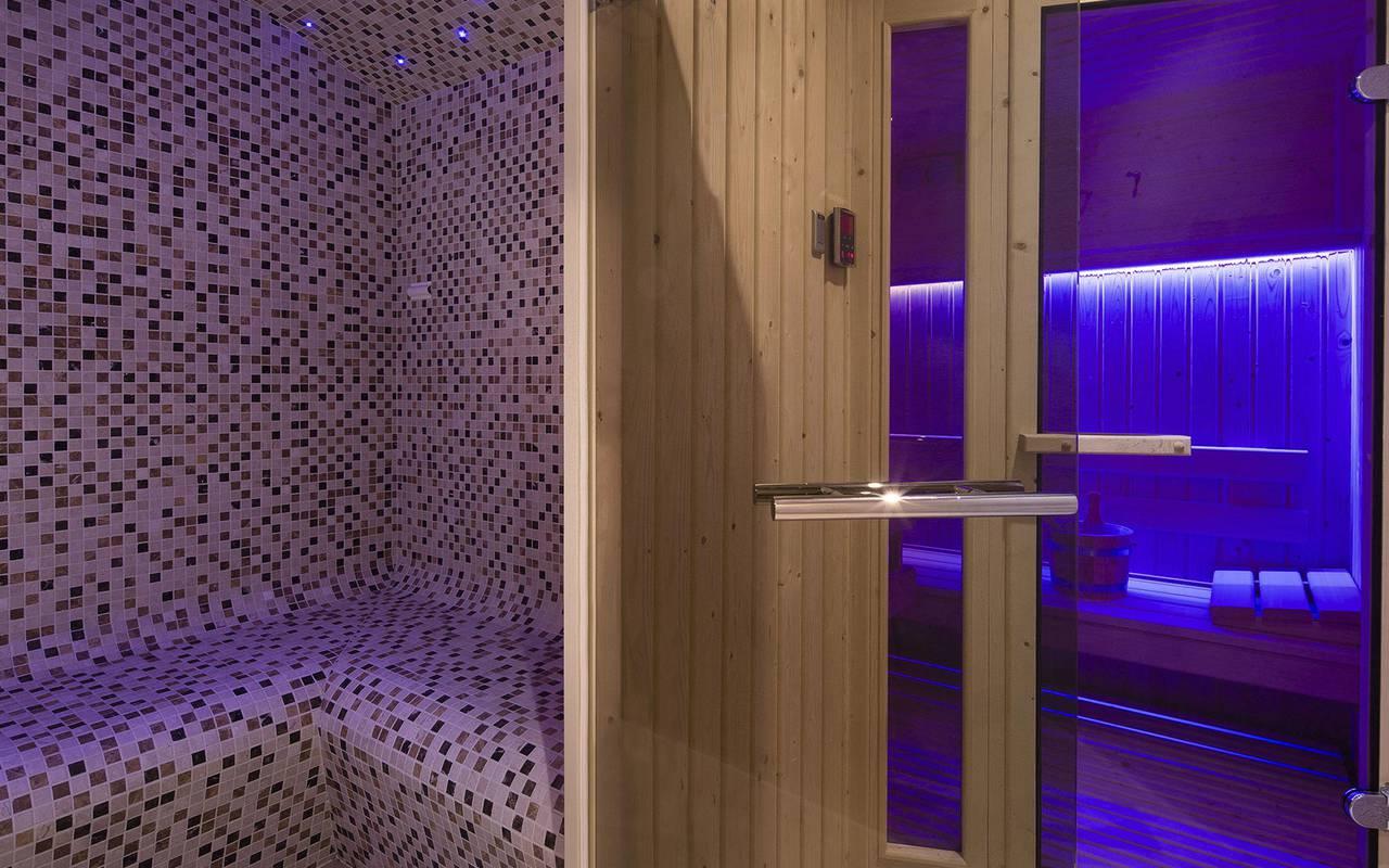 Sauna cosy hotel paris louvre