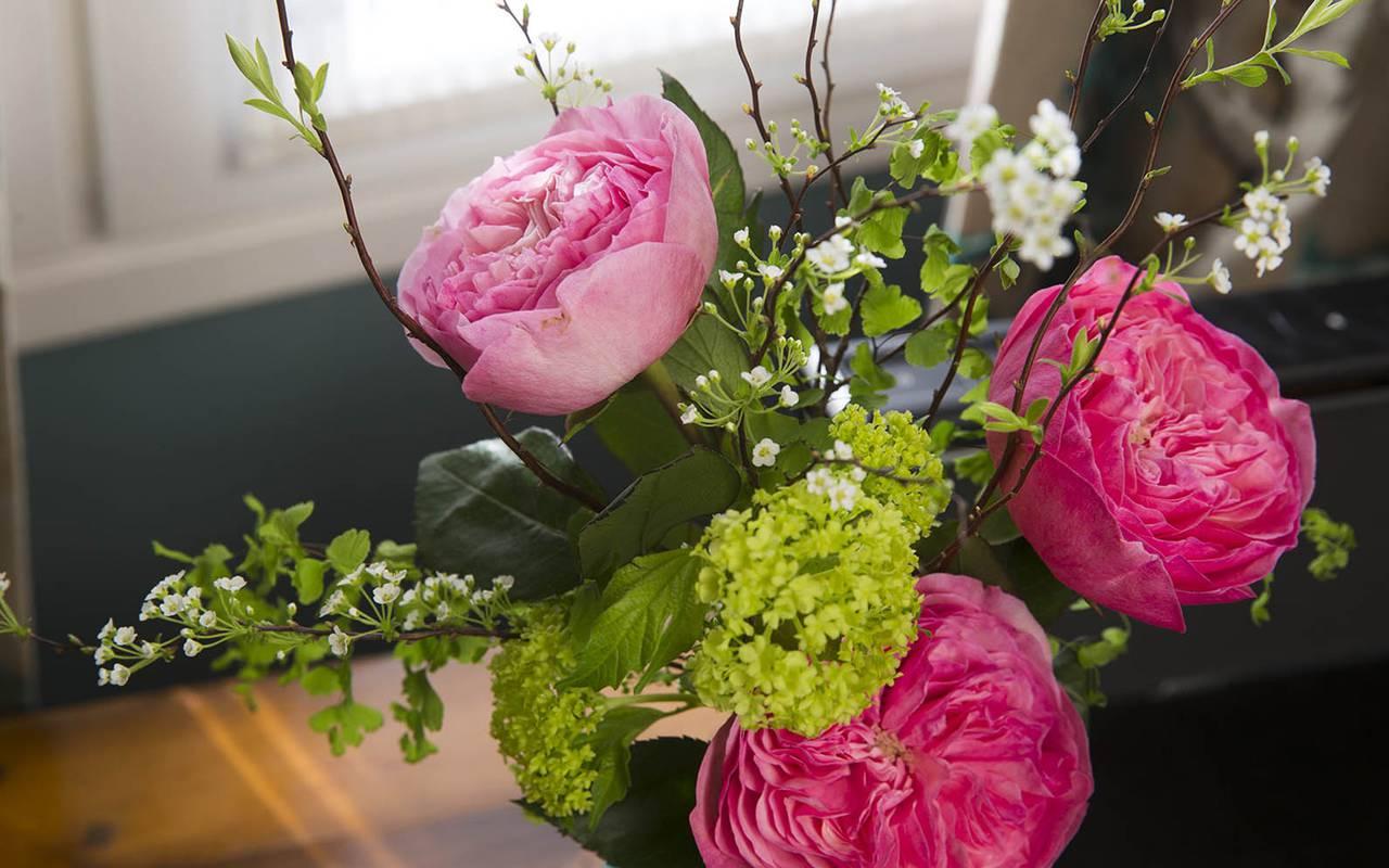 Fleurs magnifiques hotel rue saint honore
