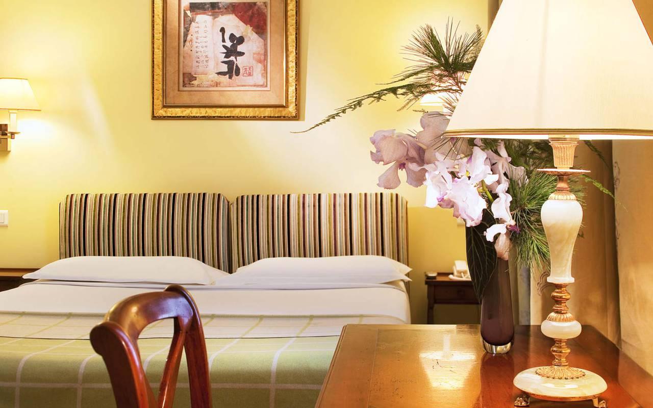 Chambre double vintage hotel rue saint honore
